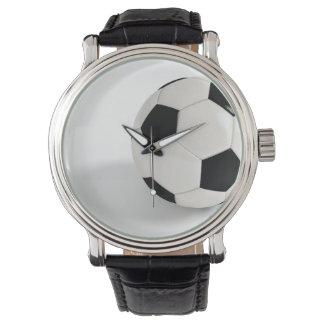 Balón de fútbol relojes