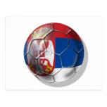 Balón de fútbol servio para todos los amantes de S Postal