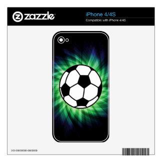 Balón de fútbol skins para eliPhone 4S