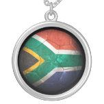 Balón de fútbol surafricano gastado de fútbol de b grimpolas