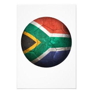 Balón de fútbol surafricano gastado de fútbol de b anuncio