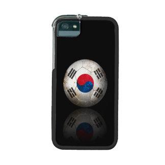 Balón de fútbol surcoreano gastado de fútbol de ba