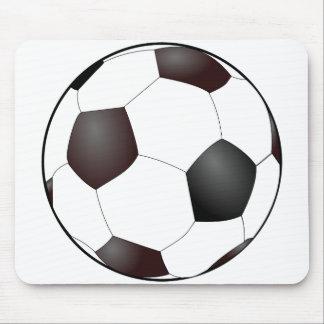 Balón de fútbol tapete de raton