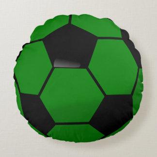Balón de fútbol viejo \ cojín redondo