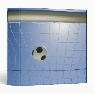 """Balón de fútbol y meta 2 carpeta 1 1/2"""""""