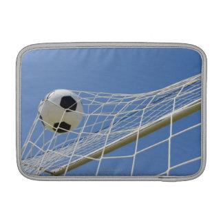 Balón de fútbol y meta 3 fundas MacBook