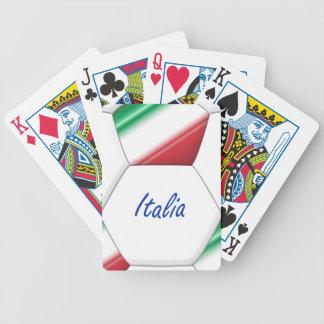 Balón ITALIA FÚTBOL de equipo nacional y bandera Barajas