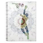 Baloncesto 01 libro de apuntes con espiral