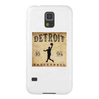 Baloncesto 1894 de Detroit Michigan Funda Galaxy S5