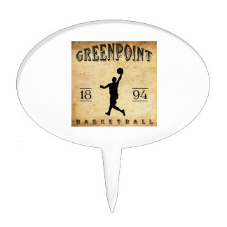Baloncesto 1894 de Greenpoint Nueva York Decoraciones Para Tartas