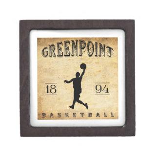 Baloncesto 1894 de Greenpoint Nueva York Cajas De Joyas De Calidad