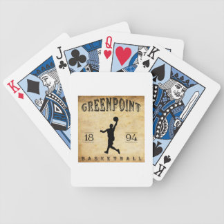 Baloncesto 1894 de Greenpoint Nueva York Barajas