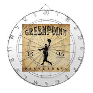 Baloncesto 1894 de Greenpoint Nueva York Tabla Dardos