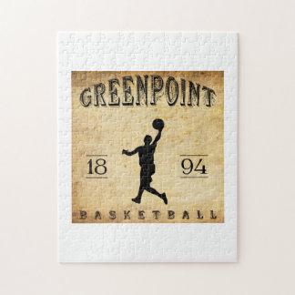 Baloncesto 1894 de Greenpoint Nueva York Rompecabezas Con Fotos
