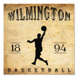 Baloncesto 1894 de Wilmington Delaware Fotografias