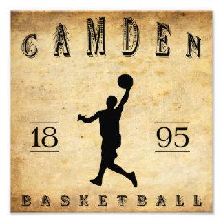 Baloncesto 1895 de Camden New Jersey Impresiones Fotográficas