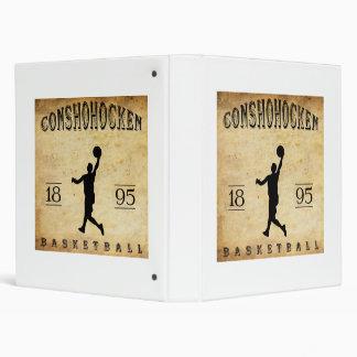 """Baloncesto 1895 de Conshohocken Pennsylvania Carpeta 1"""""""