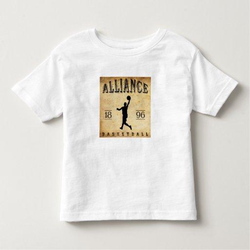 Baloncesto 1896 de Alliance Ohio Playeras