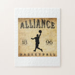Baloncesto 1896 de Alliance Ohio Puzzles