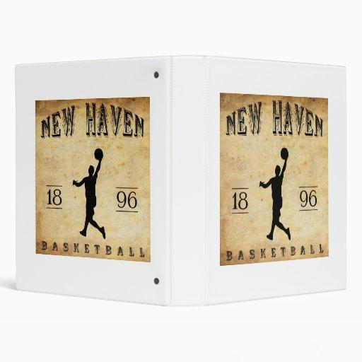 """Baloncesto 1896 de New Haven Connecticut Carpeta 1"""""""