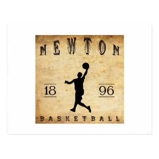 Baloncesto 1896 de Newton Massachusetts Postal