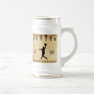 Baloncesto 1896 de Newton Massachusetts Jarra De Cerveza