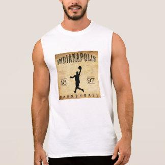 Baloncesto 1897 de Indianapolis Indiana Camisetas