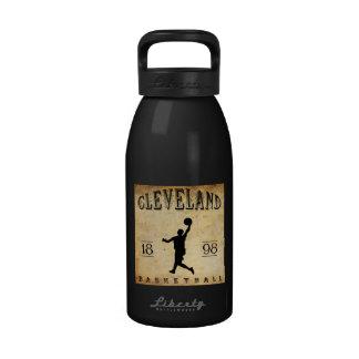 Baloncesto 1898 de Cleveland Ohio Botella De Agua Reutilizable