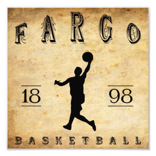 Baloncesto 1898 de Fargo Dakota del Norte Cojinete