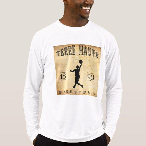 Baloncesto 1898 de Terre Haute Indiana Camisetas