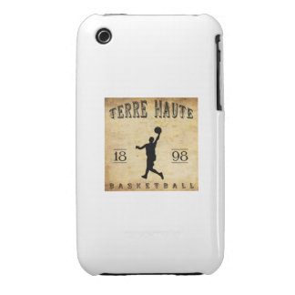Baloncesto 1898 de Terre Haute Indiana iPhone 3 Case-Mate Protectores