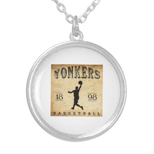 Baloncesto 1898 de Yonkers Nueva York Joyeria Personalizada