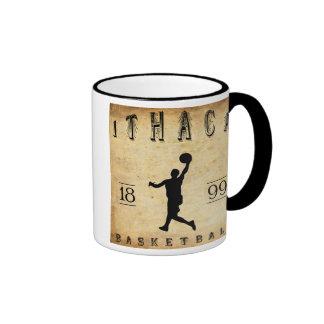 Baloncesto 1899 de Ithaca Nueva York Tazas