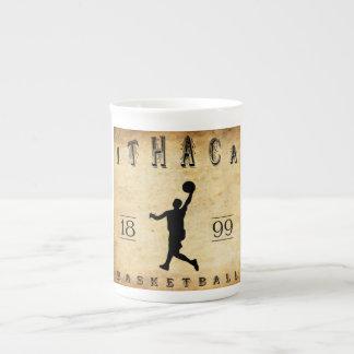 Baloncesto 1899 de Ithaca Nueva York Taza De Porcelana