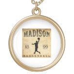 Baloncesto 1899 de Madison Wisconsin Colgantes