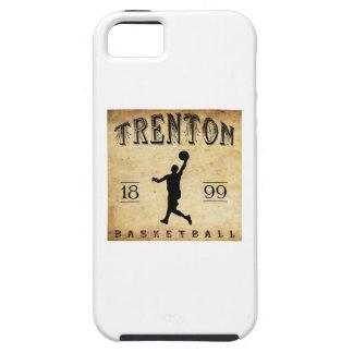 Baloncesto 1899 de Trenton New Jersey iPhone 5 Case-Mate Protectores