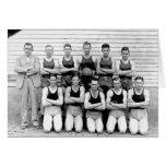 Baloncesto 1937 de los muchachos de Dibrell Tarjeta