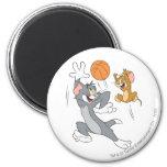 Baloncesto 1 de Tom y Jerry Imán Redondo 5 Cm