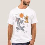 Baloncesto 1 de Tom y Jerry Playera