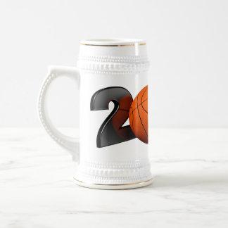 Baloncesto 2014 jarra de cerveza