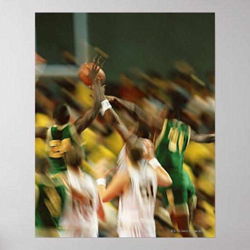 Baloncesto 3 poster