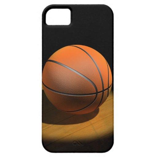 baloncesto 3d en proyector funda para iPhone SE/5/5s