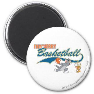 Baloncesto 5 de Tom y Jerry Imán Redondo 5 Cm