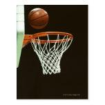 Baloncesto 5 tarjetas postales
