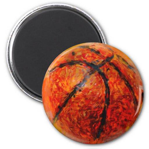 Baloncesto abstracto iman