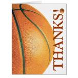 ¡Baloncesto-Agradézcale entrenar! Felicitación