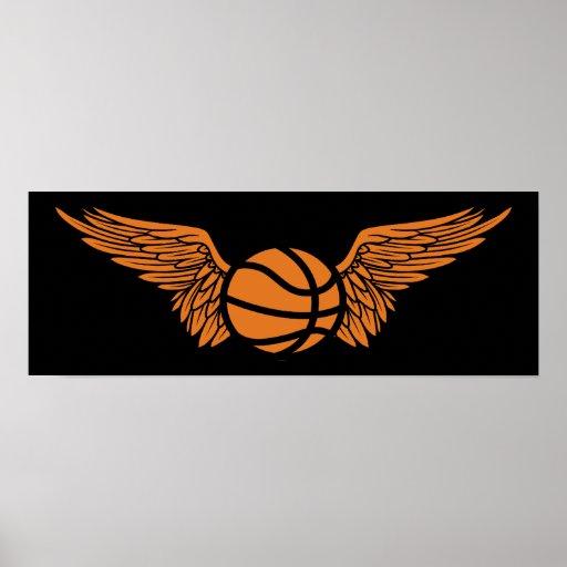 baloncesto: alas póster