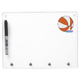 Baloncesto anaranjado pizarra blanca