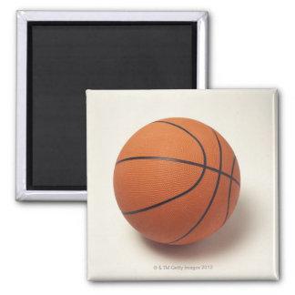 Baloncesto anaranjado, primer imán cuadrado
