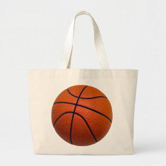 Baloncesto anaranjado y negro bolsa